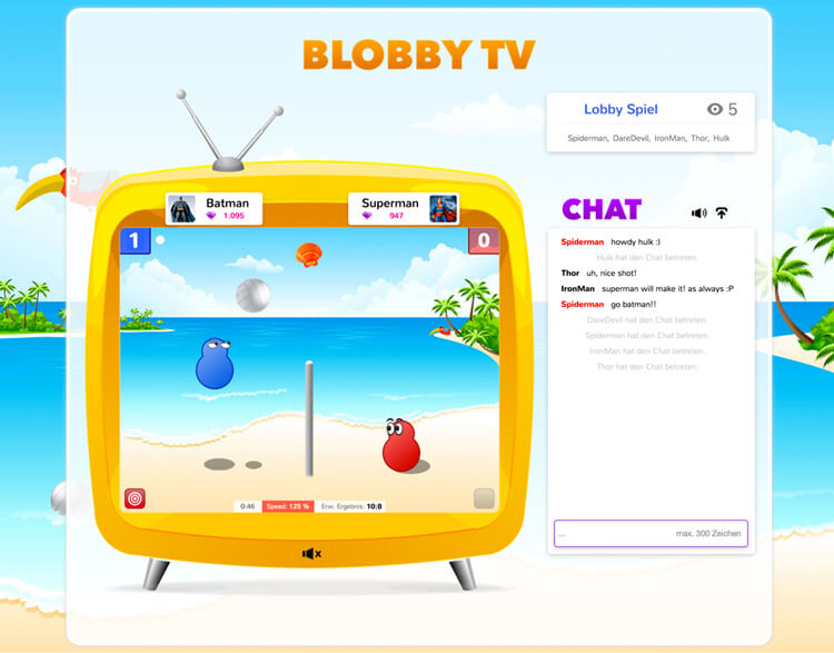 Blobby tv small